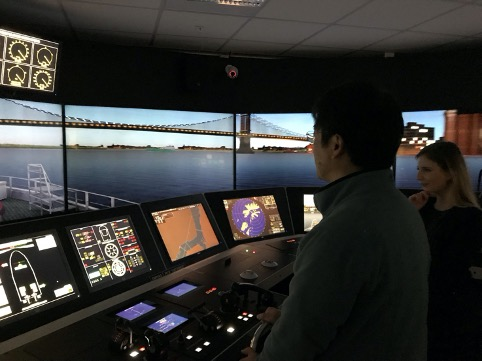 The simulator at HVL. Photo: M Lutzhoft
