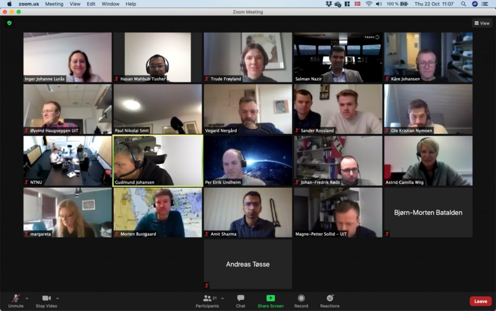 COAST virtual workshop participants