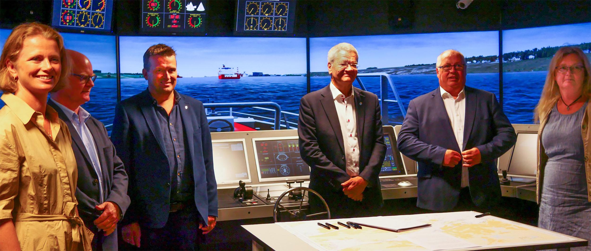 Collaboration formed at Haugesund simulator centre